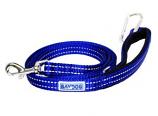 BayDog - Pensacola Leash- Blue - 6 Feet