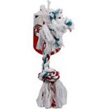 Mammoth Pet Products - Flossy Chews Color Rope Bone Dog Toy - Multicolored - 14 Inch / Large