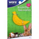 Ware Manufacturing - Bird / Small Animal - Critter Ware Krunchy Banana - Yellow / Green