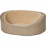 Midwest Homes For Pets - Quiet Time Deluxe Hudson Pet Bed - Tan - Xsmall