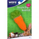 Ware Manufacturing - Bird / Small Animal - Critter Ware Krunchy Carrot - Orange / Green