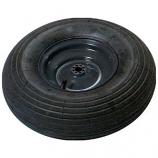 The Ames Company - True Temper Replacement Wheel Assembly - Black - 6 Inch