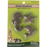 Ware Manufacturing  Bird / Small Animal - Critter Crackers - Ocean - 3 Piece