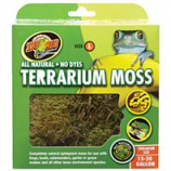 Zoo Med - Terrarium Moss - GREEN/BROWN 15-20 GALLON