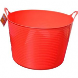 Tuff Stuff Products - Flex Tub  - Red  - 7 Gallon