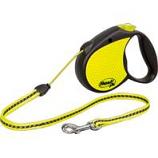 Flexi North America - Neon Reflective Medium Tape - Yellow - 16  Ft / 44  Lb