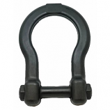 SodaPup - ID Anchor Shackle Tug Toy - Black