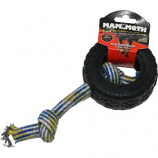 Mammoth Pet Products - Tirebiter II With Rope - Black - Small