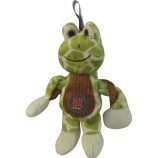 Charming Pet Products - Baby Pulleez Frog Dog Toy - Green - Small/7 Inch
