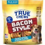 Tyson Pet Products - True Chews Bacon Style Dog Treats - Bacon/Peanut Bu - 16 Oz