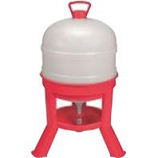 Miller Manufacturing - Waterer Dome - Red - 8 Gallon