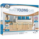 Four Paws - Free Standing Walk Over Gate - 48-110 Inch