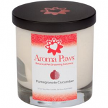 Aroma Paws - Pomegranate Cucumber - Glass Candle In Box - 8 oz