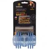 Starmark Pet Products - Treat Dispensing Barbell Dog Chew - Blue - Medium