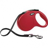 Flexi North America - Classic Large Tape Retractable Leash - Red - Large 110 Lbs