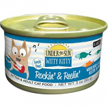 Canidae - Under The Sun - Under The Sun Witty Kitty Rockin & Reelin Cat Food - Whitefish / Salmo - 3 Oucne