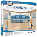 Four Paws - Verticle Wood Slat Gate - 53-96 Inch