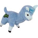 Quaker Pet Group -Godog Fleece Llama Durable Plush Dog Toy - Blue - Large